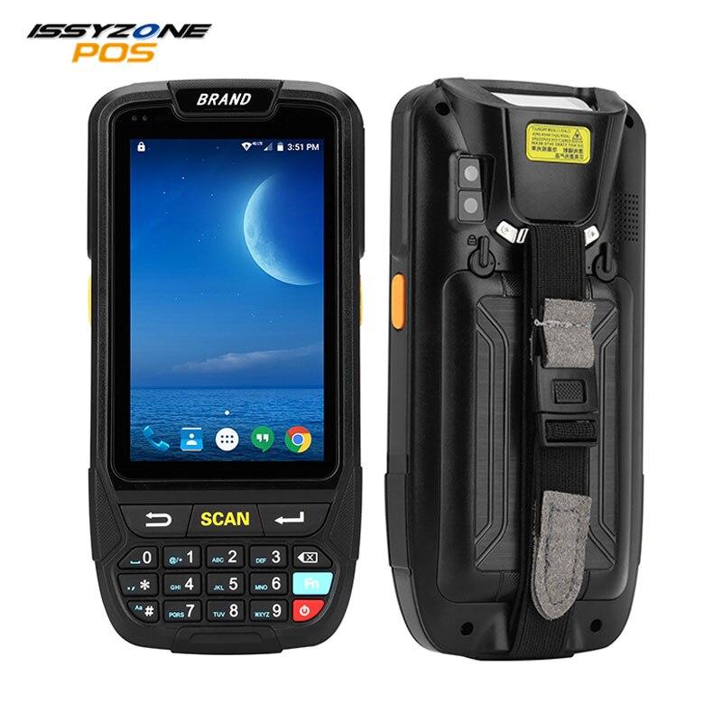 IssyzonePOS PDA Terminal 1D 2D Lecteur de Codes Barres Android 7 Collecteur de Données Wifi Bluetooth pour La Gestion Des Stocks Entrepôt Système