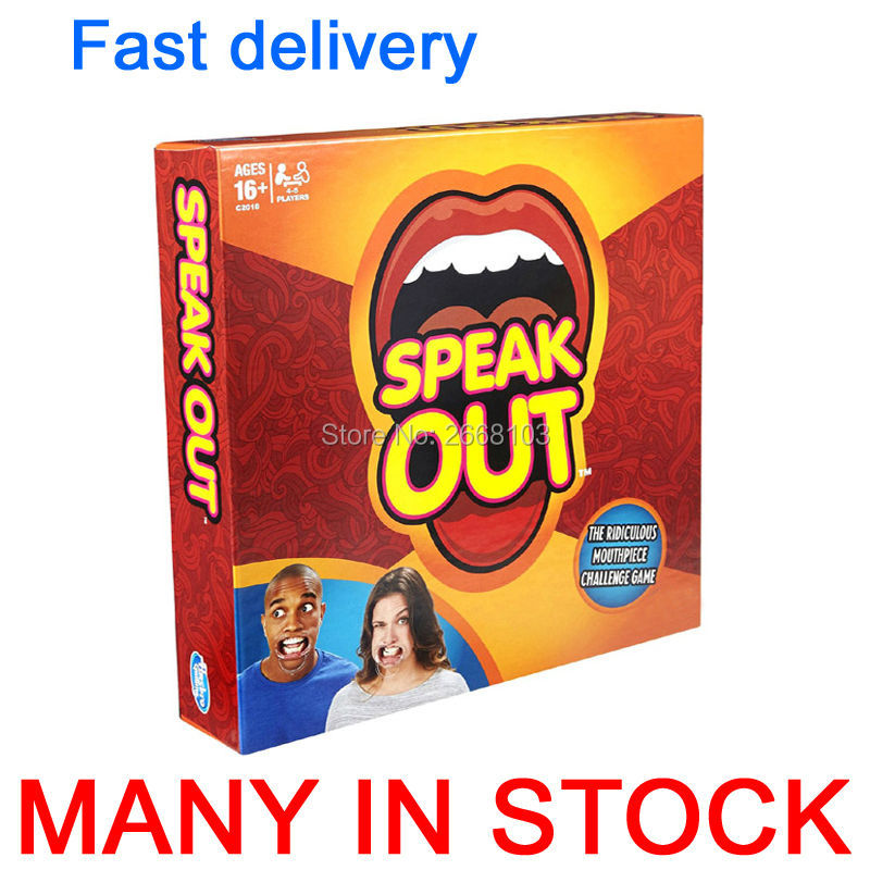 Free Shipping In Stock 2 Set Speak Out Board Game Interesting Best
