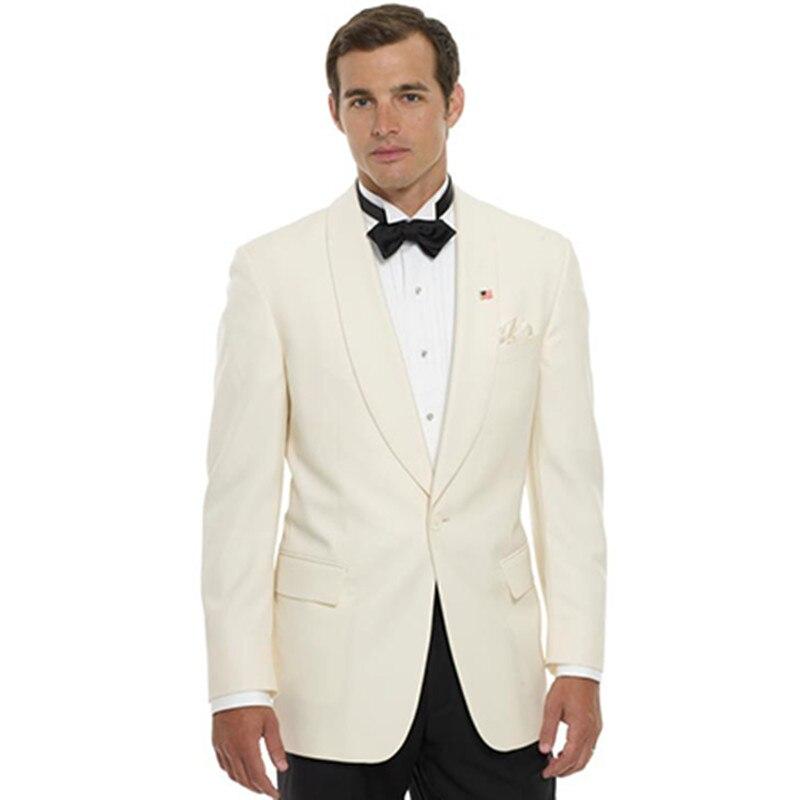 groom font b suits b font font b men b font bridegroom wear shawl collar for