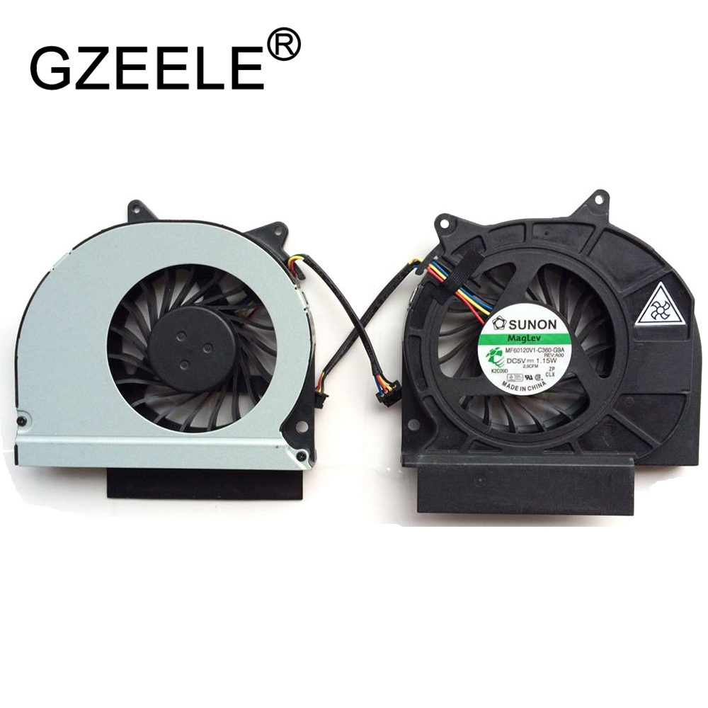купить GZEELE New CPU Cooling Fan For Dell Latitude E6420 Laptop Notebook Cooler Radiator mf60120v1-c360-g9a 4pin connector Cooling FaN по цене 322.64 рублей