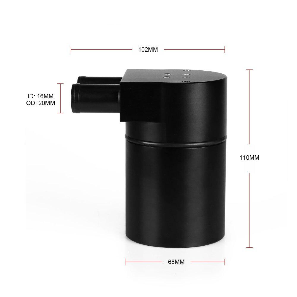 RASTP-réservoir d'huile en aluminium noir avec tuyau en Silicone pour BMW N54 335i 135i E90 E92 E82 2006-2010 RS-OCC016 du moteur - 2
