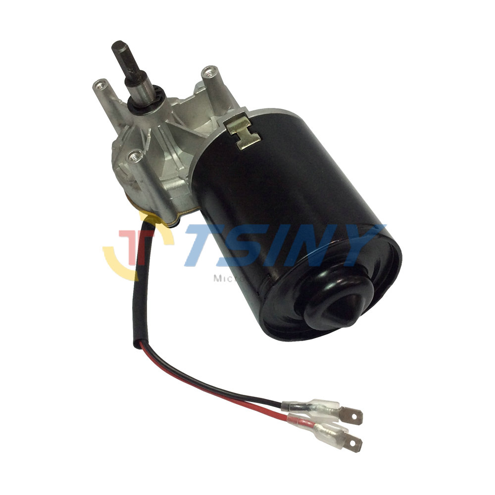 24v electric worm gear motor dc 24v 45rpm garage door for Electric motor for garage door