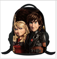 2016 How to Train Your Dragon cartoon backpack children schoolbag school book bag kid shoulder bags nightfury boy bag