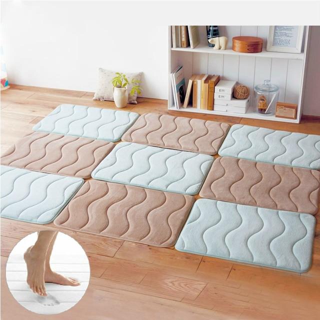 Badkamer tapijt badkamer mat super absorberend 40*120cm woonkamer ...