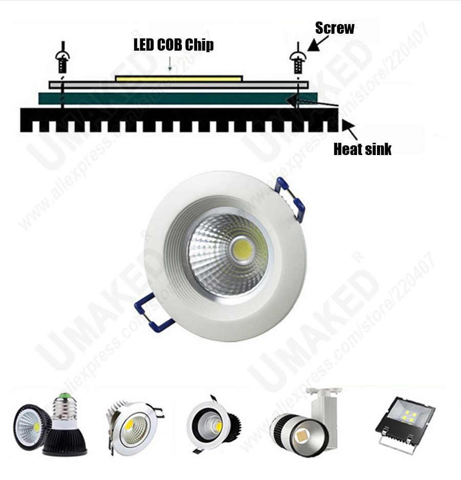 3W 5W 7W 9W COB חרוזים 20mm Led שבב דיודות משטח אור עבור Led הנורה זרקור רחוב מנורת Led