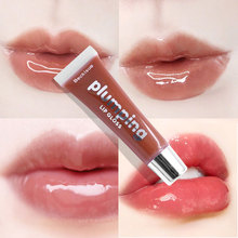 Moisturizing Plumping Lipgloss Cherry Glitter Lip Gloss Plumper Makeup Nutritious Lipstick Mineral Oil Clear