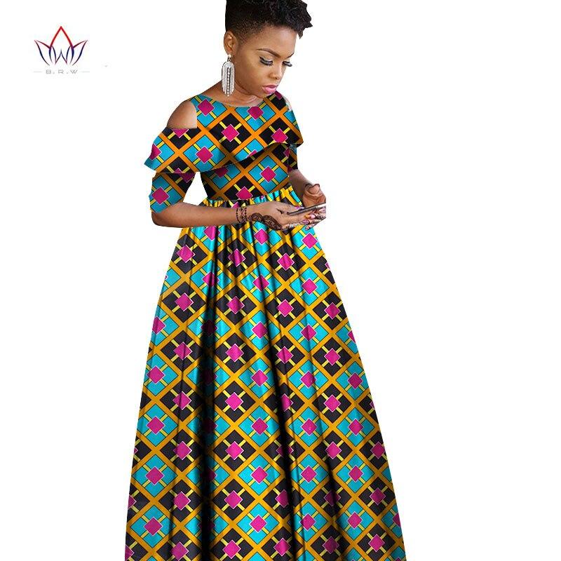 2017 Summer Autumn African Dresses For Women Ankara