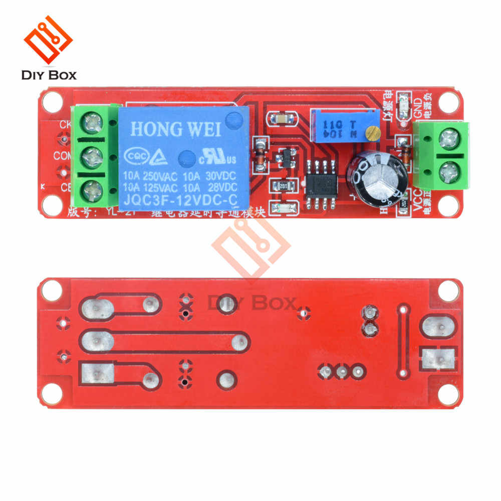 Detail Feedback Questions About Dc 12v 24v Time Delay Relay Switch 555 Timer Circuit Remote Control Jammer Ne555 Adjustable Module Connect Turn On