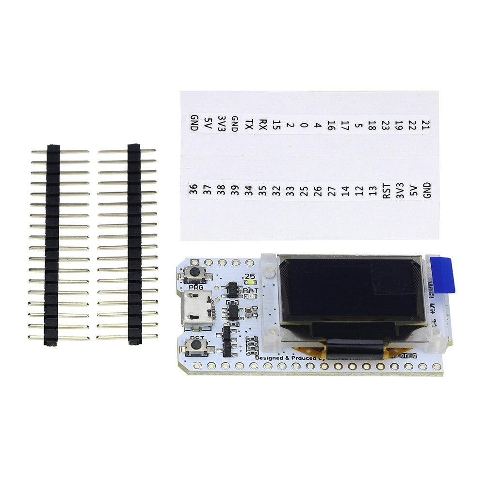 SX1278 ESP32 0.96 inch Blue OLED Display Bluetooth WIFI Kit 32 Module Internet Development Board 433mhz for arduino Diy Kit