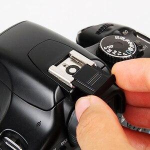 Image 5 - Flash chaussures chaudes appareil photo numérique bras support/chaussures chaudes niveau à bulle pour LED Flash appareil photo DSLR appareil photo accessoires de photographie