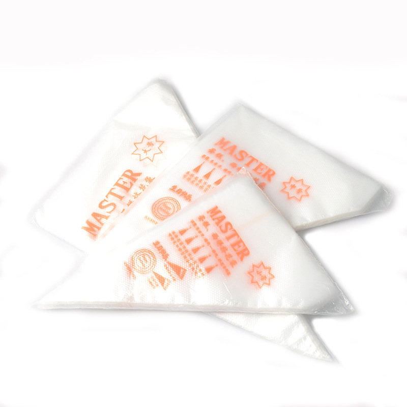 100pcs Disposable Pastry Bags S/M Size Piping Bag Confectionery Bags For Cream Fondant Cake Decorating Tools Bakeware