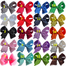 Lace Hair bow 5 inch Girls Hairbow Hairgrips Hair clips Hairpins Boutique Dancing bows Children Hair Accessories 20 PCS/Lot linlin indian hair weave bundles loose wave 3 bundles with lace closure 4 pcs lot deal 27 human hair bundles hair rollers