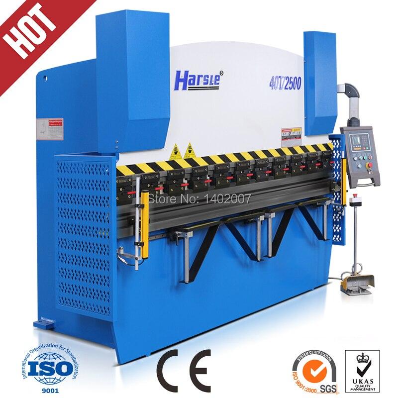 Series bending machine, WC67K CNC series CNC hydraulic sheet metal bending