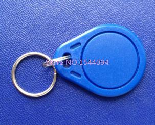 RFID 13.56MHz Token Tag IC Tag Token Key Ring IC Cards Blue Colour