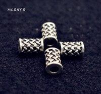 MCSAYS 1 PCS Norse Viking Jewelry Viking Runes Charm Beads Retro DIY Beard Beads Special Necklace