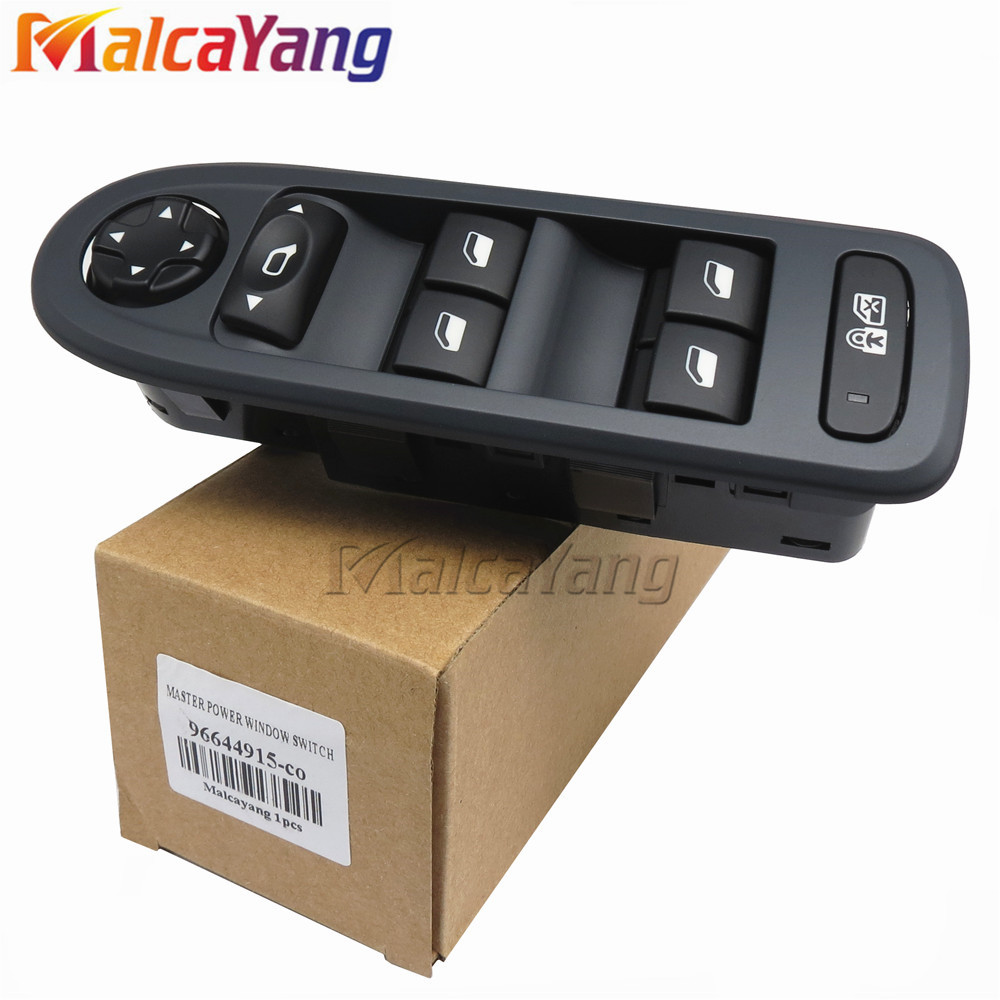 For 2008-2013 Peugeot 308 5 Door Hatchback Wagon Master Window Switch 96644915 WINDOWS AND MIRRORS SWITCHES