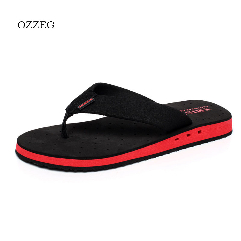 Summer Men Slippers Fashion Beach Flip Flops Slippers for Men Shoes Sapatos Masculino Non-slip Shoes Plus Size 48 Sandals fashion summer flat slippers female soft indoor slip resistant outsole flip sandals plus size beach shoes