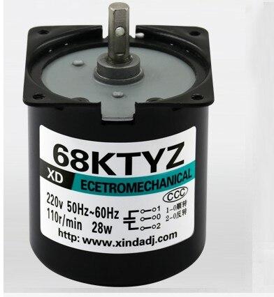 DC 12V 20tr//min Vitesse rotation 2 bornes Connexion Motor/éducteur R/éduction JS-40