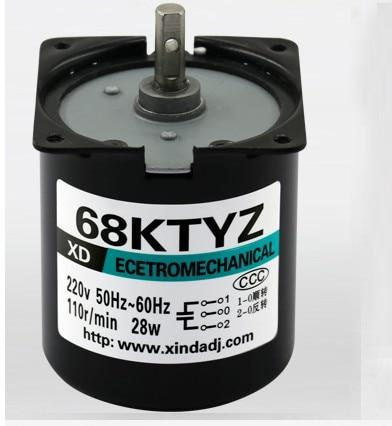 68KTYZ AC motor 220V 2.5rpm -110rpm motor micro slow speed machine 28W permanent magnet synchronous motor68KTYZ AC motor 220V 2.5rpm -110rpm motor micro slow speed machine 28W permanent magnet synchronous motor