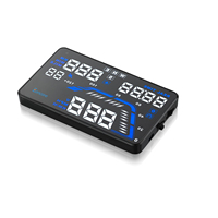 AUTO Q7 5 5 High Definition Display With GPS HUD Function Car Vehicle Mounted Head Up