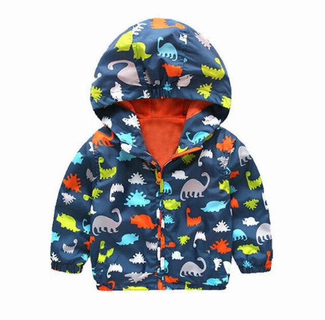 US $6.69 5% OFF|Frühling Herbst Winter Jungen Jacken Mäntel Kind Jungen Mit Kapuze Wasserdicht Windschutz Oberbekleidung Regen Mantel Jacke Jungen