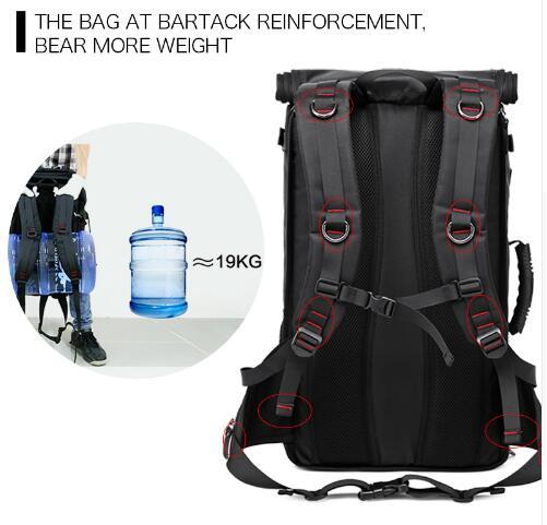 40L 50L Travel Backpack Men military Oxford Travel Backpack Multi Function 17 inch Laptop Camouflage Travel Bag Backpack For Men 3