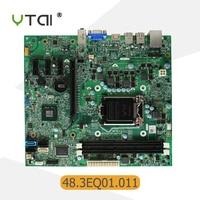 For Dell Inspiron 620 Desktop motherboard MIH61R 48.3EQ01.011 LGA1155 H61 DDR3 mainboard 100% tested