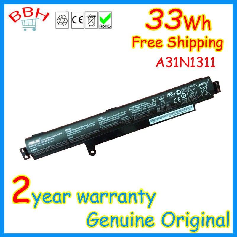 Genuine 11 25v 33wh A31n1311 Battery for Asus F102ba X102b X102ba bh41t X102ba ha41002f Series batteria