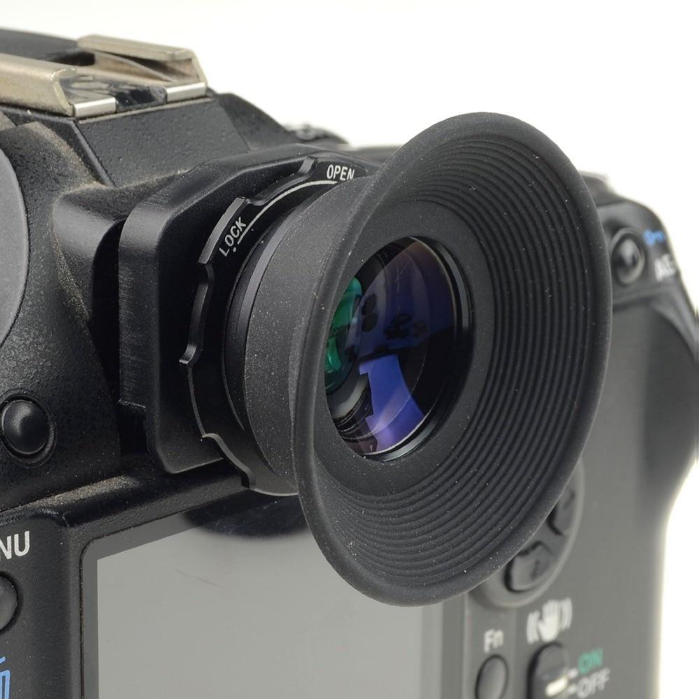 Mcoplus 1.08x-1.60x Zoom Vizor Luptator ocular pentru Nikon D7100 D700 D500 D500 D500 D3100 D800 D750 D600 D300 D90 D80