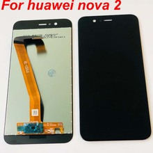 100% Getest OK Voor Huawei Nova 2 Nova2 Lcd Touch Screen Digitizer Vergadering PIC AL00 PIC TL00 PIC LX9 Vervanging