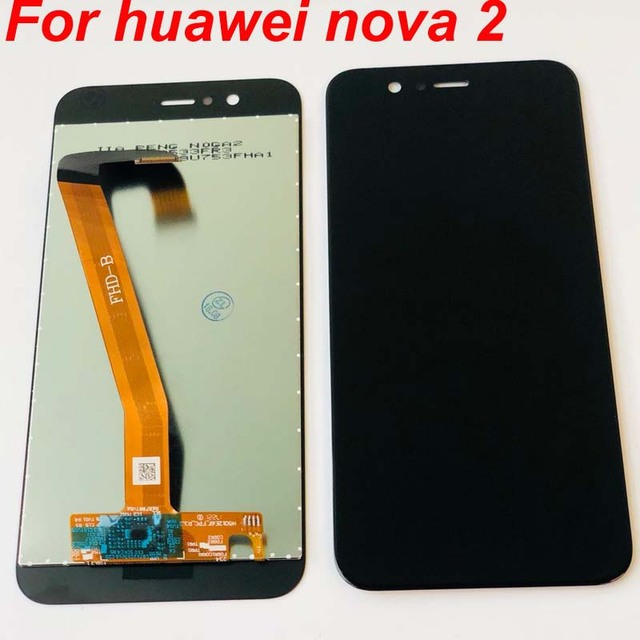 100% Tested OK For Huawei Nova 2 Nova2 LCD Display Touch Screen Digitizer Assembly PIC AL00 PIC TL00 PIC LX9 Replacement