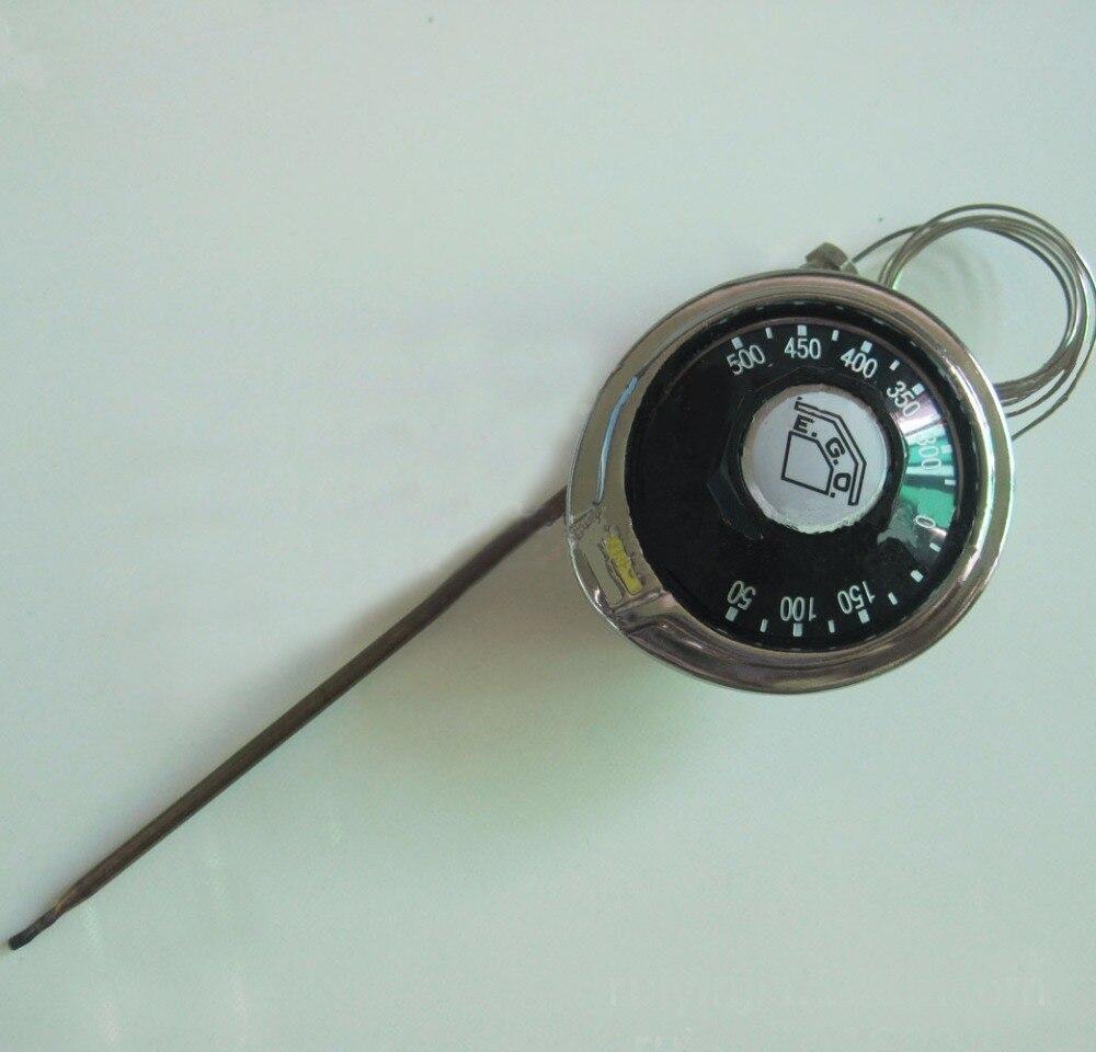 50-500 Celsius Original EGO Temperaturregler 55.13282.040 High-temperature Capillary Thermostat with Nut Automatic Reset NC