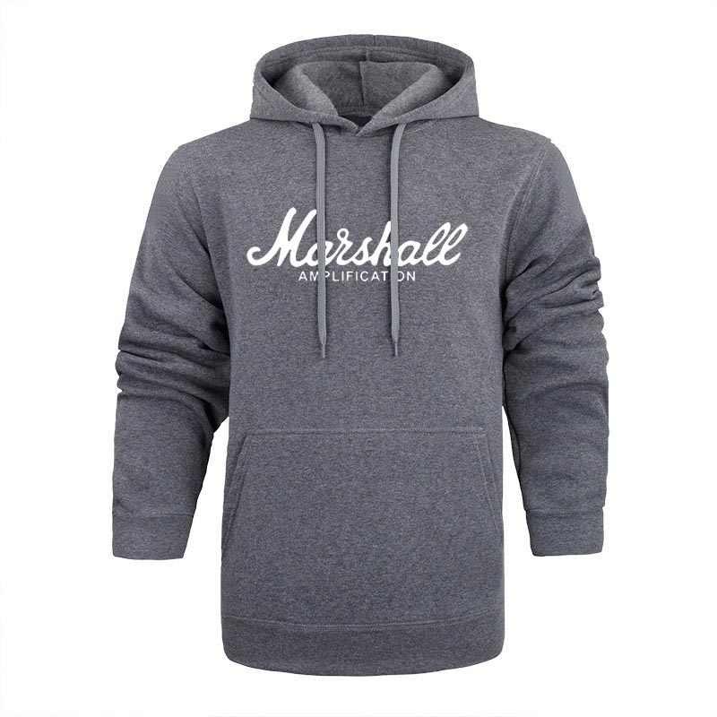 Marshall Hooded Zipper Hoodies Mulheres Popular Sound Band Streetwear Hip Hop Hoodies Men stranger things Clothes