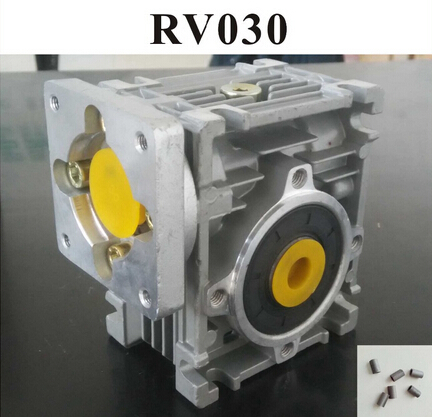 5:1 Worm Reducer RV030 Worm Gearbox Speed Reducer With Shaft Sleeve Adaptor for 8mm Input Shaft of Nema 23 Motor цена 2017