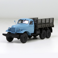 SSm 1:43 157K blue van Russian Soviet truck simulation alloy model Collection model
