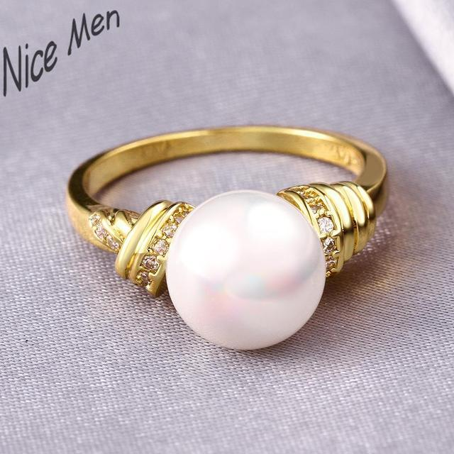 31886d5390fe5 US $6.17 |Egg pearl rings jewelry new R022 A wholesale latest pearl ring  designs for women-in Rings from Jewelry & Accessories on Aliexpress.com |  ...