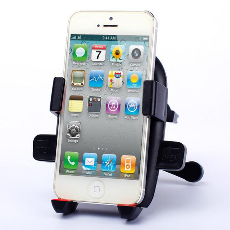 Dudukan Telepon mobil universal Air Vent Mount Car Holder 360 Derajat - Aksesori dan suku cadang ponsel - Foto 6