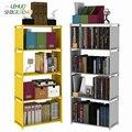 Multilayer Bücherregal nicht woven bücherregal Organizer lagerung Regal einfache boden rack Home decoracion Wohnzimmer Möbel-in Bücherregale aus Möbel bei