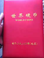 collection COINS of various values in 60 countries,silver coins coin book metal handicraft home decoration