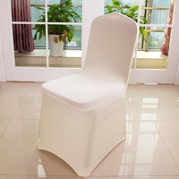 10 Pc Spandex Seat Case Strech Chair Cover Elastic for Wedding Party Hotel Banquet Event Decoration Decor