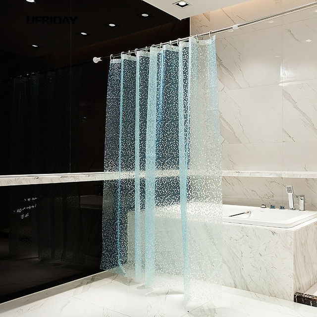 UFRIDAY Vasca Da Bagno di Lusso Bagno 3D Impermeabile Doccia Tenda ...