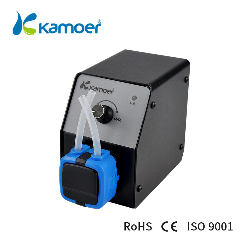Kamoer KCP2 65ml/min 24v Laboratory Peristaltic Pump For Environmental Equipment liquid transfer