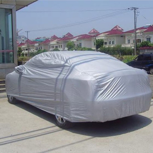 Car Cover Silver PEVA Trunk Se