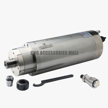 Stone CNC Router spindle motor 7.5KW ER25 Water cooled spindle 220V 18000rpm with 4 bearings GDK125-18Z/7.5KW цена в Москве и Питере