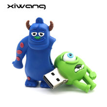Venda quente Dos Desenhos Animados memory stick USB Pendrive USB Flash Drive GB 64 32 GB USB Stick Bonito cle usb 2.0 Pen unidade 4 GB GB 16 8 GB flash disk U(China)