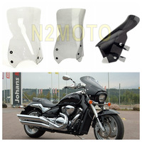 3 Colors Motorcycle Windshield for Suzuki Boulevard M109R M50 M90 2006 2016 Polycarbonate Clear/Smoke/Black Windscreen