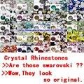 Strass cristal Para Unhas 36000 pcs ss16 3.8-4.0mm 25 Cores 250 Bruto de Vidro Strass Apartamento de Volta Não Hot-fix Cola Em Glitter Gems