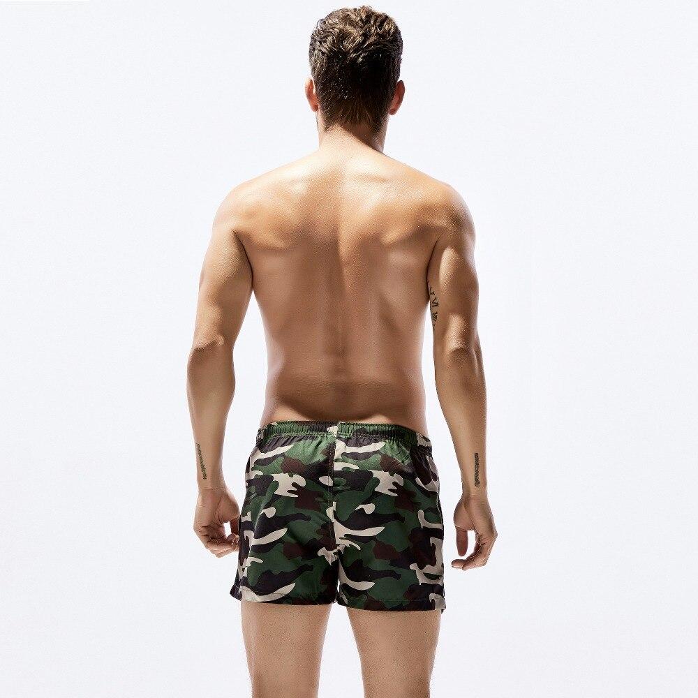 Camouflage meeste pardal lühikesed püksid rannas ujumisriided kiire - Meeste riided - Foto 4
