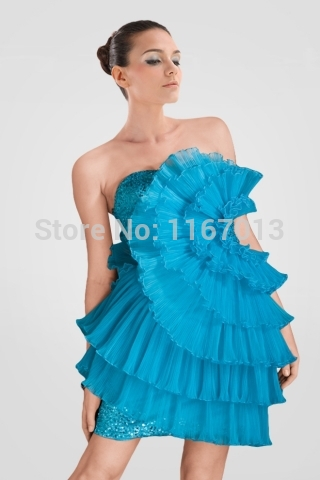 Aliexpress.com : Buy Homecoming Court Dresses Short Prom Cheap ...
