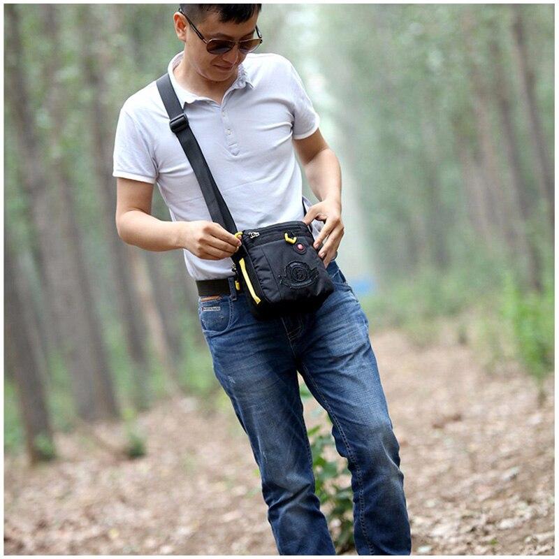 6d668bee7c54 Men Nylon Messenger Bags Crossbody Waterproof Men Small Bag Pack ...